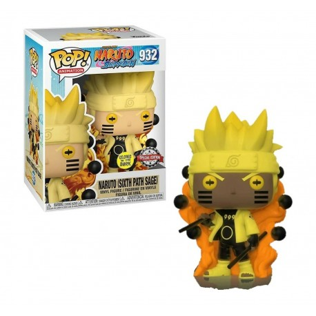 Funko Pop! Animation Naruto (Sixth Path Sage) Glows in the dark 932